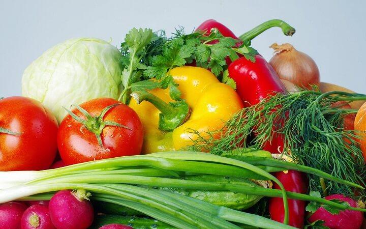 蔬菜也有促排的作用