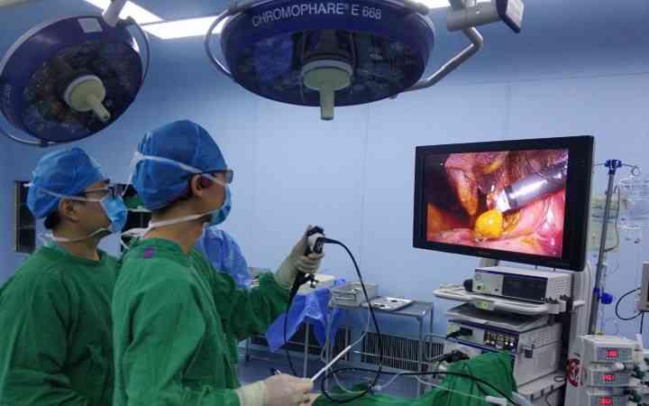 卵巢囊肿的手术选择