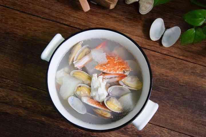 冬瓜海鲜汤适合孕期